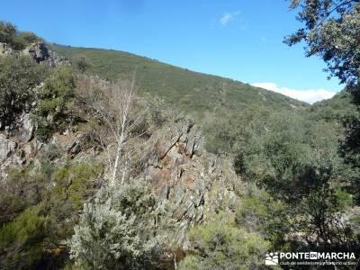 Pico Rocigalgo - Cascada del Chorro [Parque Nacional de Cabañeros] ruta laguna grande gredos el se